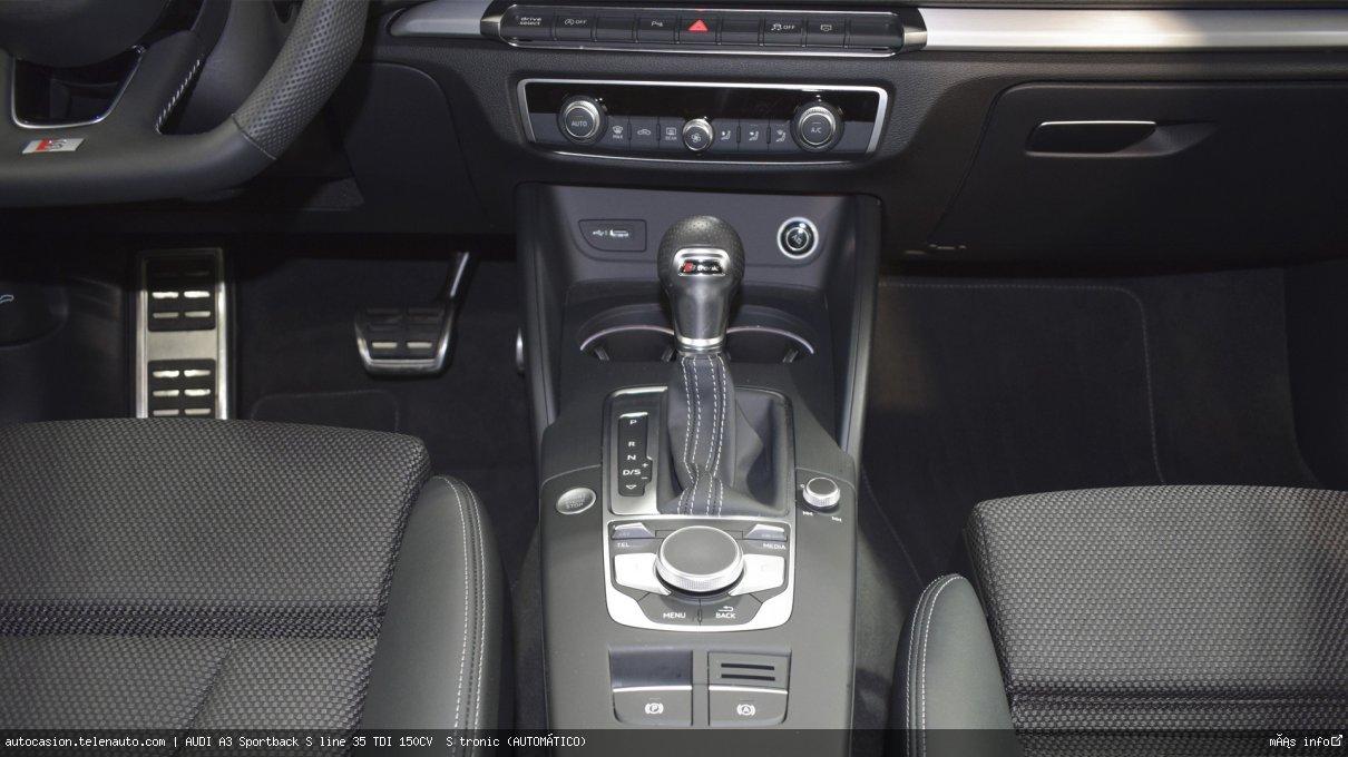 Audi A3 Sportback S line 35 TDI 150CV  S tronic (AUTOMÁTICO)  Diesel kilometro 0 de ocasión 13