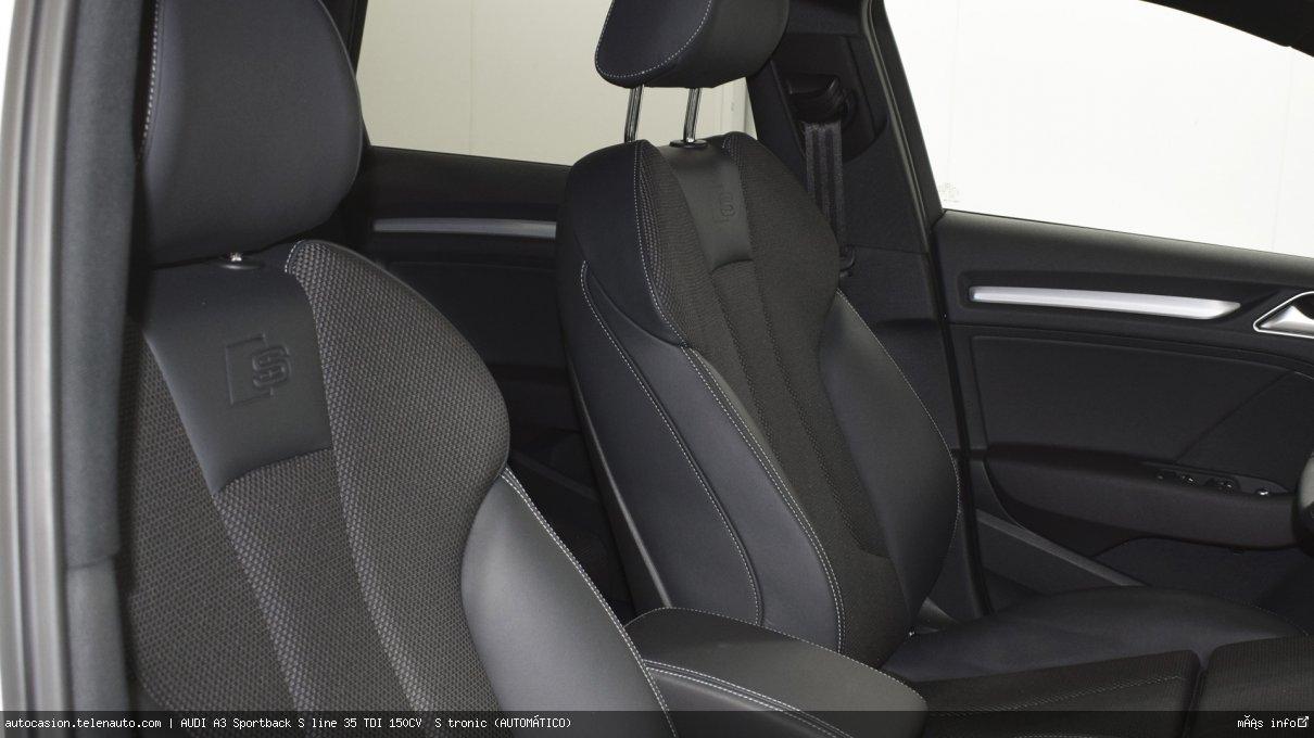 Audi A3 Sportback S line 35 TDI 150CV  S tronic (AUTOMÁTICO)  Diesel kilometro 0 de ocasión 14