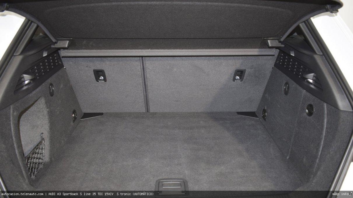 Audi A3 Sportback S line 35 TDI 150CV  S tronic (AUTOMÁTICO)  Diesel kilometro 0 de ocasión 16