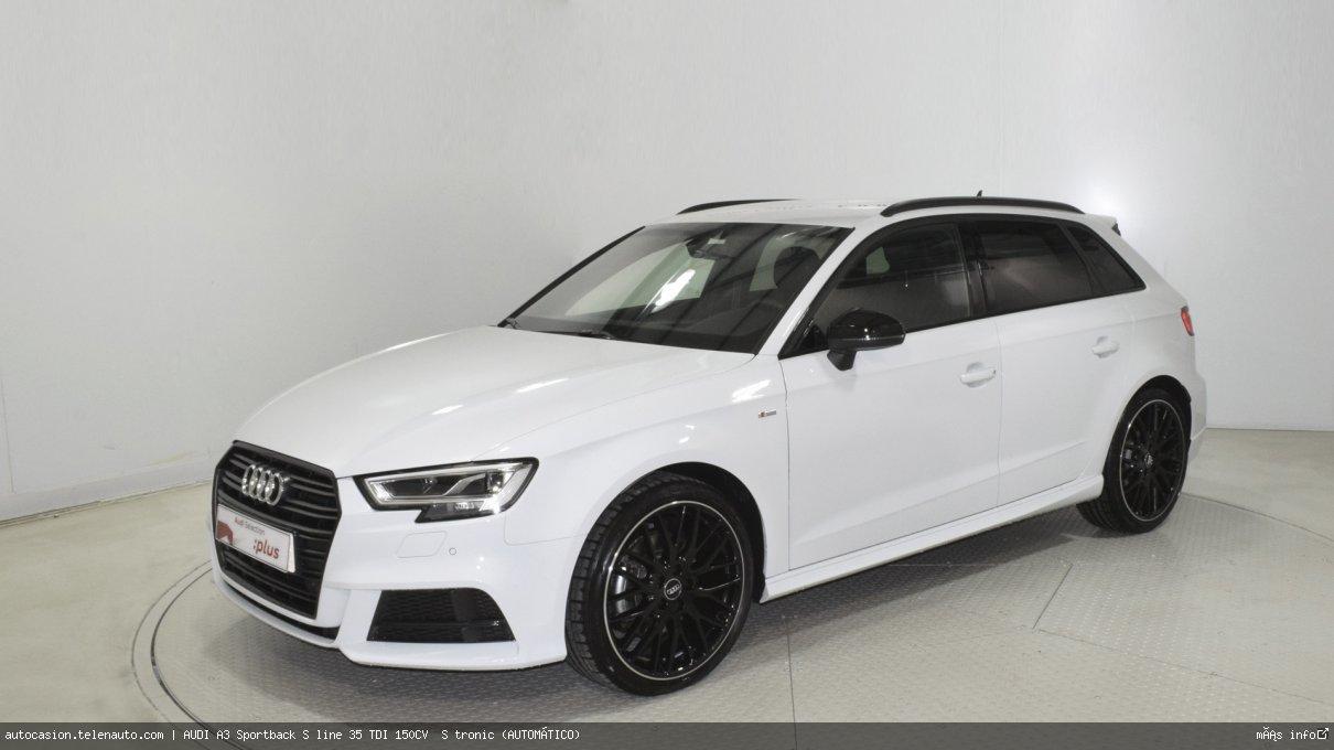 Audi A3 Sportback S line 35 TDI 150CV  S tronic (AUTOMÁTICO)  Diesel kilometro 0 de ocasión 3