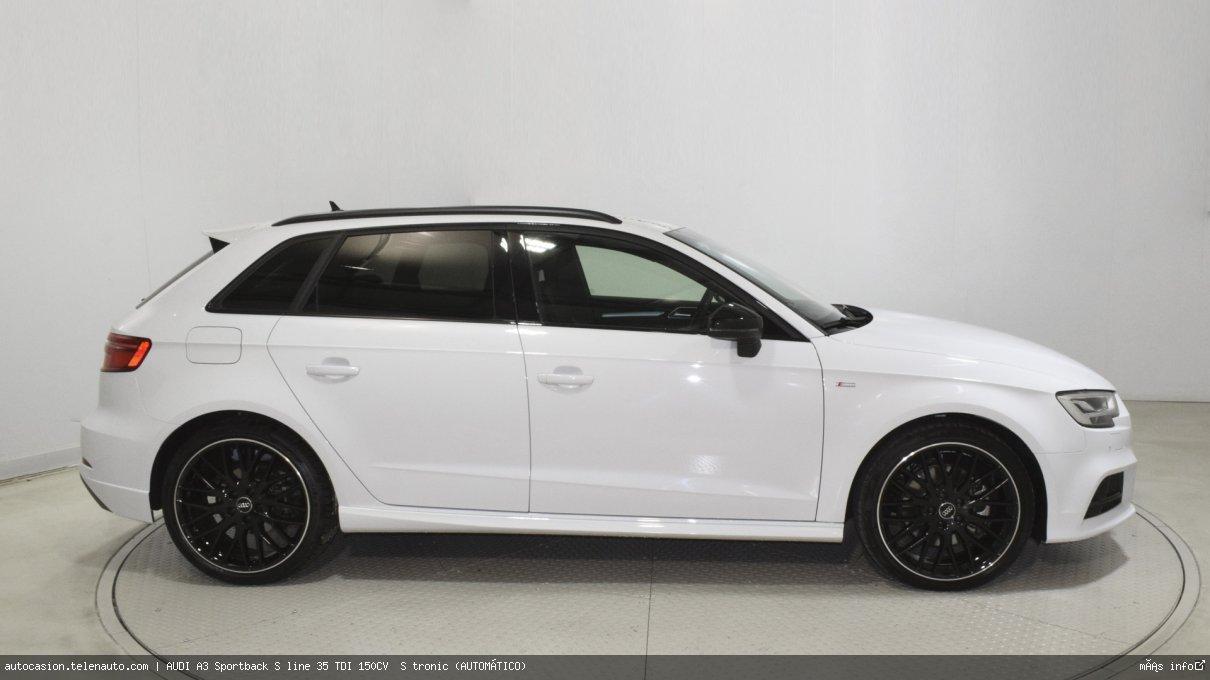 Audi A3 Sportback S line 35 TDI 150CV  S tronic (AUTOMÁTICO)  Diesel kilometro 0 de ocasión 4