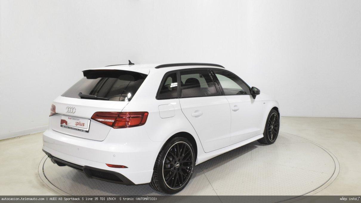 Audi A3 Sportback S line 35 TDI 150CV  S tronic (AUTOMÁTICO)  Diesel kilometro 0 de ocasión 5