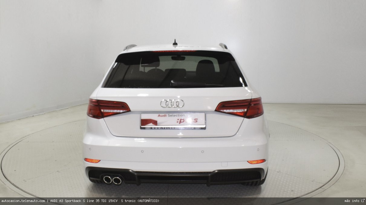 Audi A3 Sportback S line 35 TDI 150CV  S tronic (AUTOMÁTICO)  Diesel kilometro 0 de ocasión 6