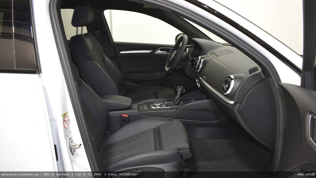 Audi A3 Sportback S line 35 TDI 150CV  S tronic (AUTOMÁTICO)  Diesel kilometro 0 de ocasión 9
