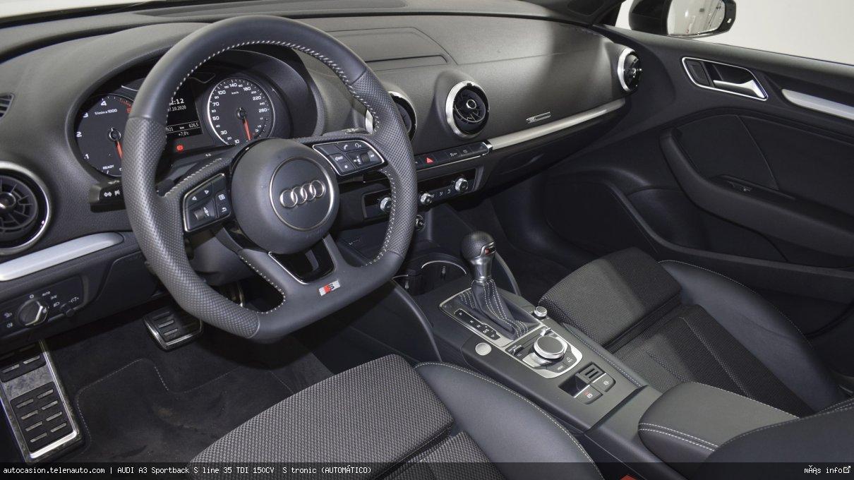 Audi A3 Sportback S line 35 TDI 150CV  S tronic (AUTOMÁTICO)  Diesel kilometro 0 de ocasión 10