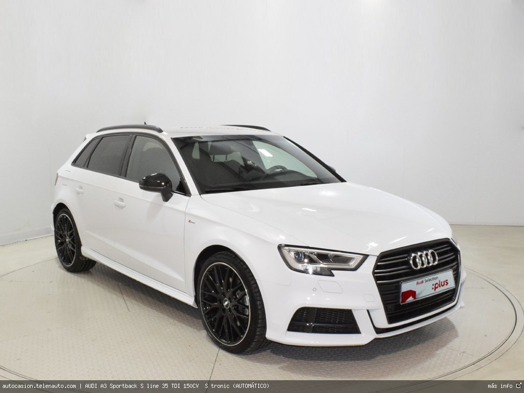 Audi A3 Sportback S line 35 TDI 150CV  S tronic (AUTOMÁTICO)  Diesel kilometro 0 de ocasión 1