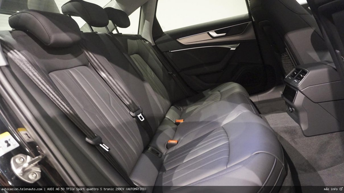Audi A6 50 TFSIe Sport quattro S tronic 299CV (AUTOMÁTICO) Hibrido kilometro 0 de ocasión 12