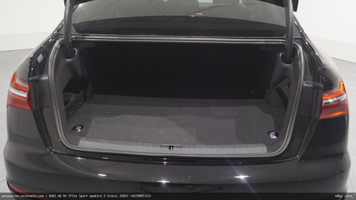 Audi A6 50 TFSIe Sport quattro S tronic 299CV (AUTOMÁTICO) Hibrido kilometro 0 de ocasión 13