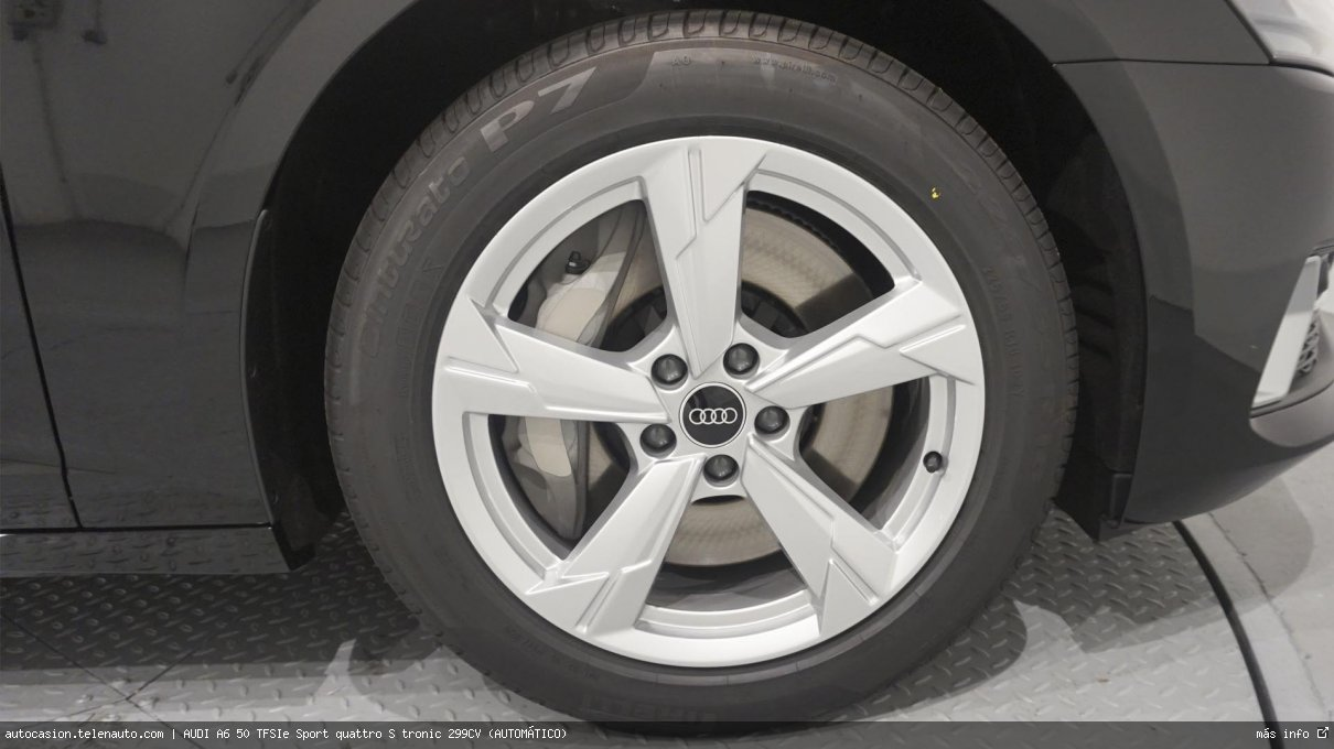 Audi A6 50 TFSIe Sport quattro S tronic 299CV (AUTOMÁTICO) Hibrido kilometro 0 de ocasión 14