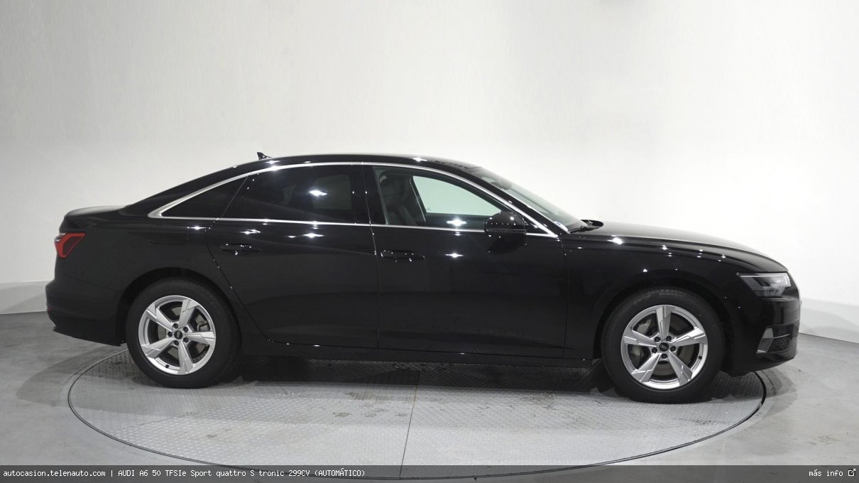Audi A6 50 TFSIe Sport quattro S tronic 299CV (AUTOMÁTICO) Hibrido kilometro 0 de ocasión 4