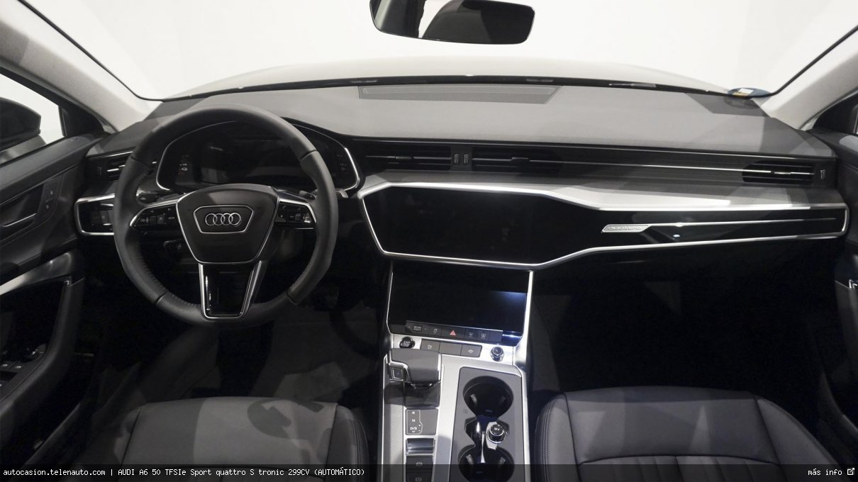Audi A6 50 TFSIe Sport quattro S tronic 299CV (AUTOMÁTICO) Hibrido kilometro 0 de ocasión 8