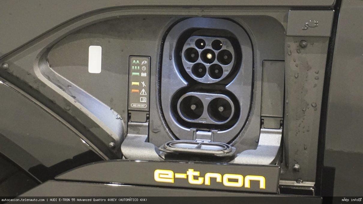 Audi Etron 55 Advanced Quattro 408CV (AUTOMÁTICO 4X4) Electrico kilometro 0 de segunda mano 16