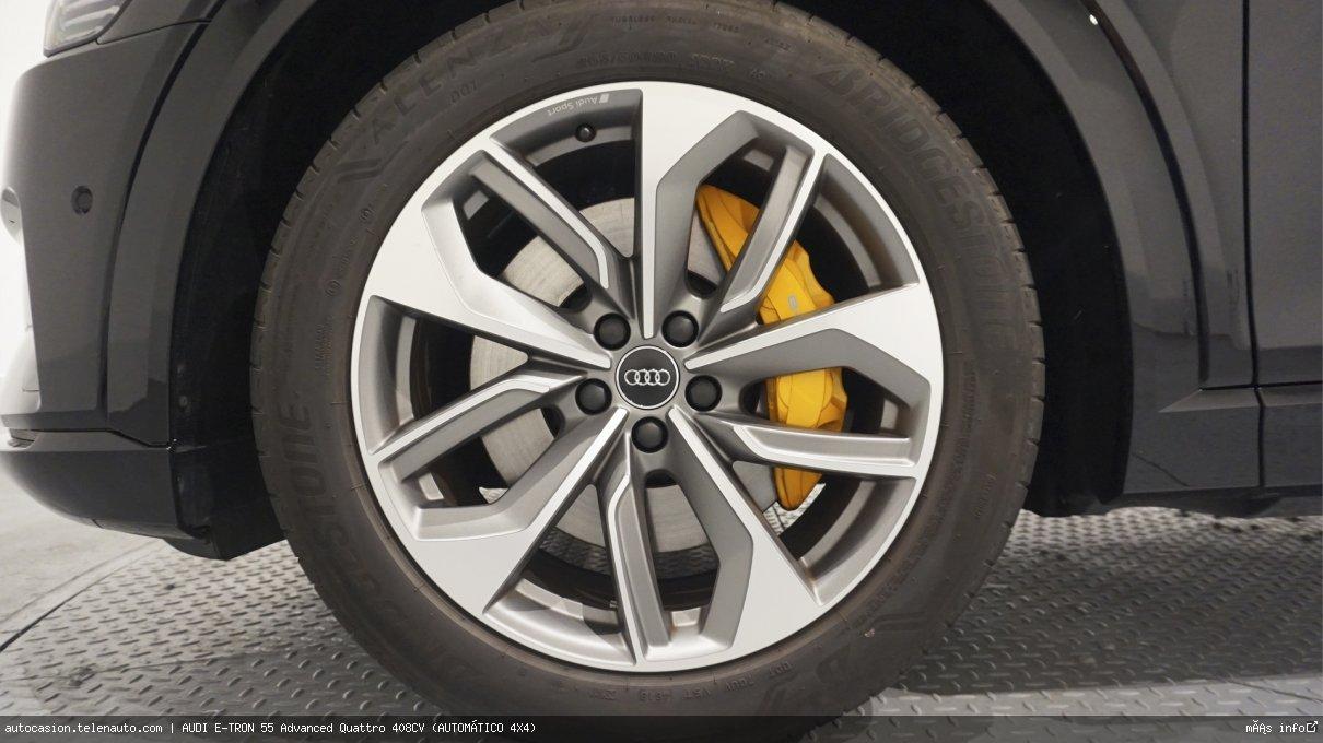 Audi Etron 55 Advanced Quattro 408CV (AUTOMÁTICO 4X4) Electrico kilometro 0 de segunda mano 18