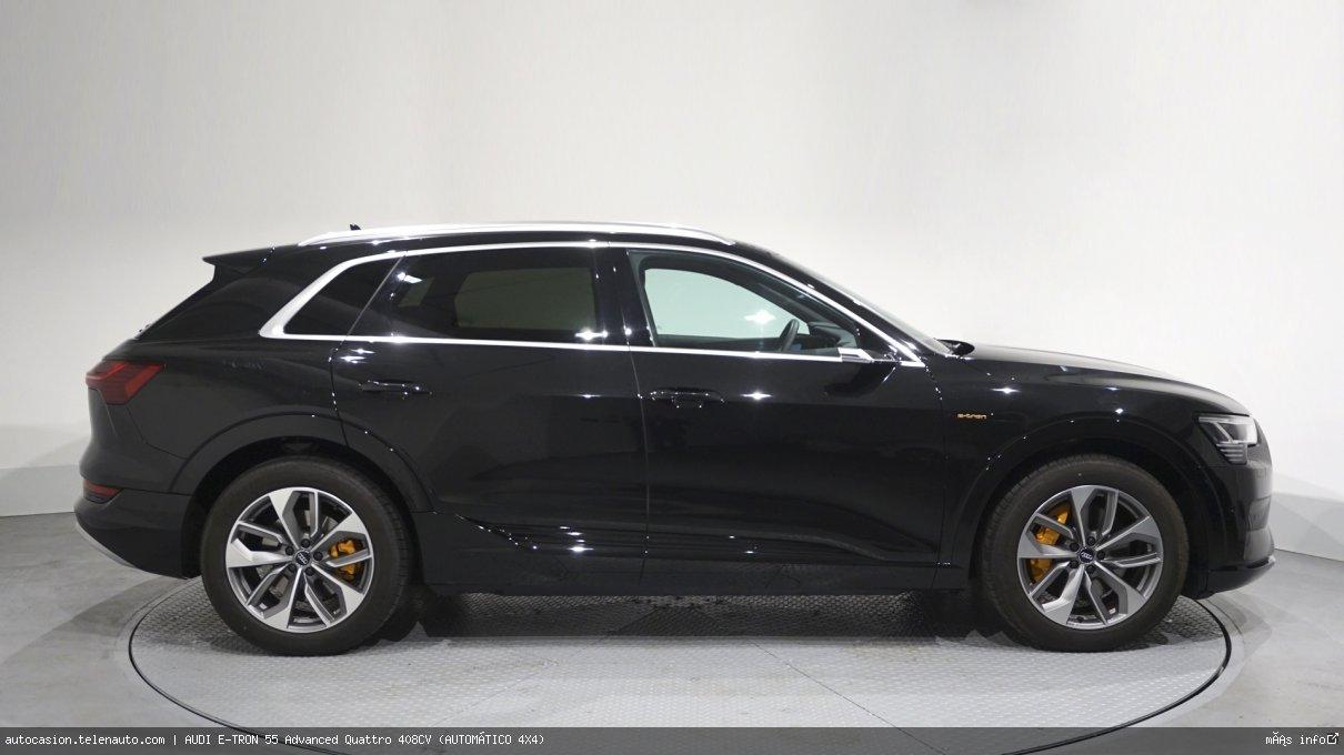 Audi Etron 55 Advanced Quattro 408CV (AUTOMÁTICO 4X4) Electrico kilometro 0 de segunda mano 4
