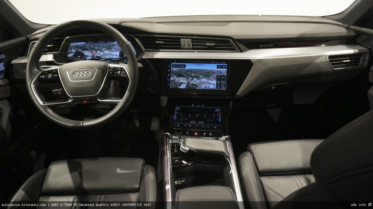 Audi Etron 55 Advanced Quattro 408CV (AUTOMÁTICO 4X4) Electrico kilometro 0 de segunda mano 9