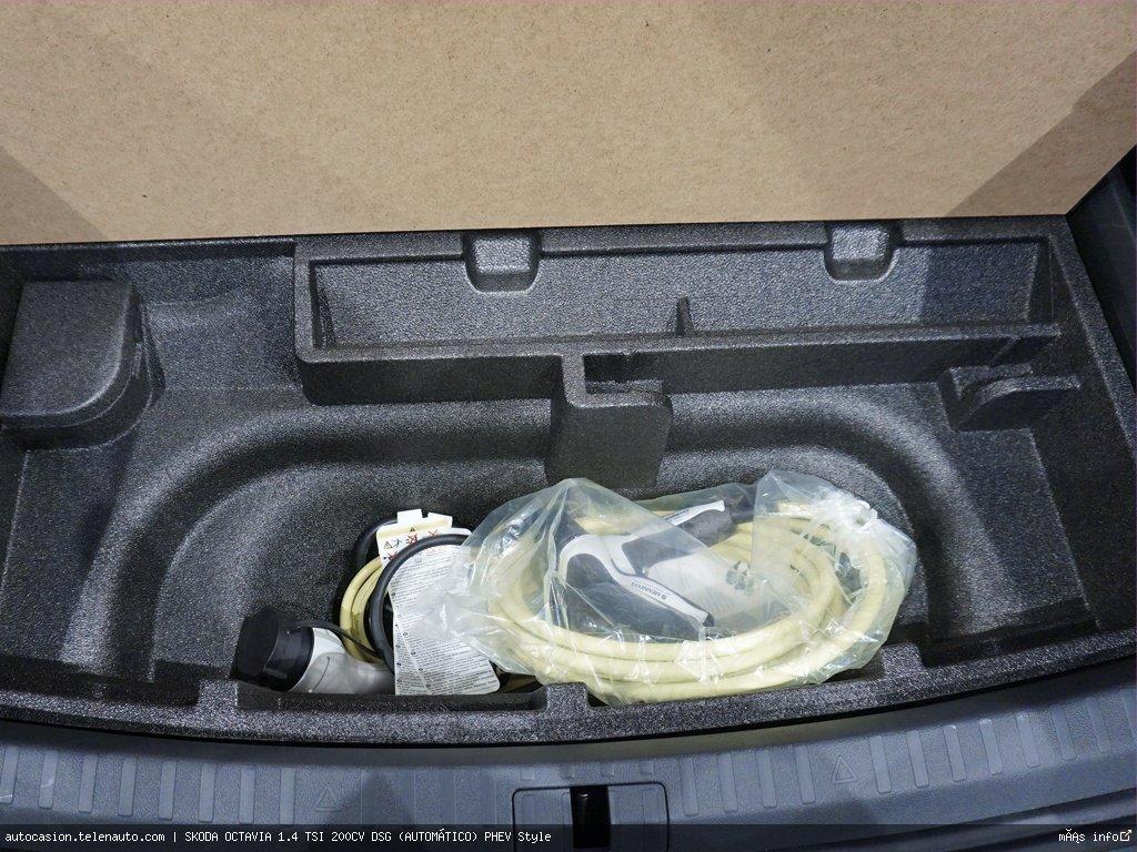 Skoda Octavia 1.4 TSI 200CV DSG (AUTOMÁTICO) PHEV Style Hibrido kilometro 0 de segunda mano 9