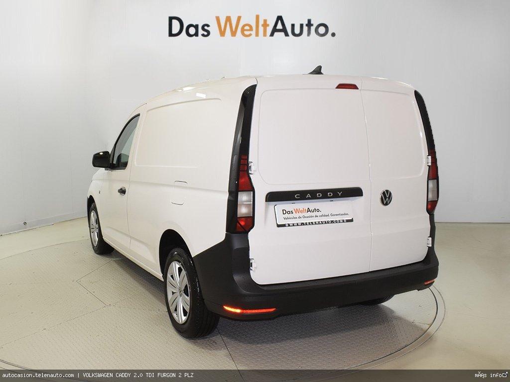 Volkswagen Caddy Furgón 2.0TDI 102CV Diesel kilometro 0 de segunda mano 2