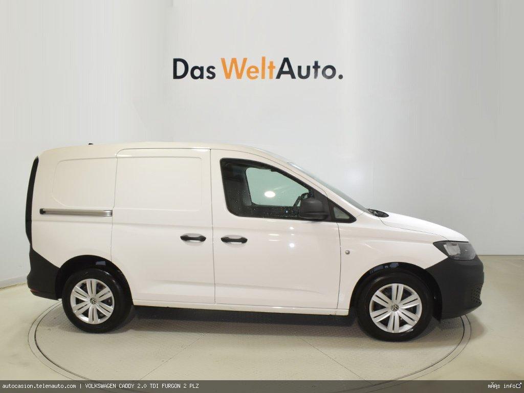 Volkswagen Caddy Furgón 2.0TDI 102CV Diesel kilometro 0 de segunda mano 3