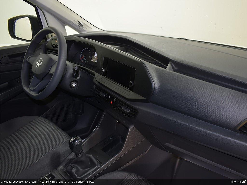 Volkswagen Caddy Furgón 2.0TDI 102CV Diesel kilometro 0 de segunda mano 4