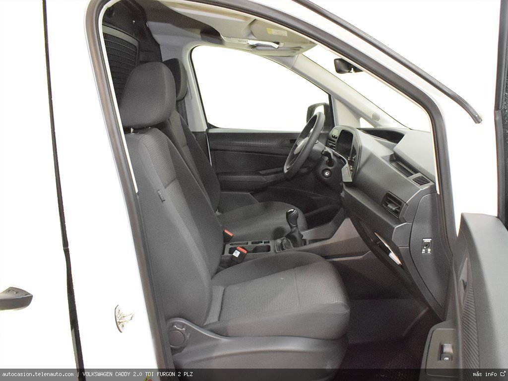 Volkswagen Caddy Furgón 2.0TDI 102CV Diesel kilometro 0 de segunda mano 5