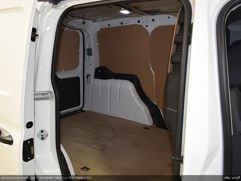 Volkswagen Caddy Furgón 2.0TDI 102CV Diesel kilometro 0 de segunda mano 6