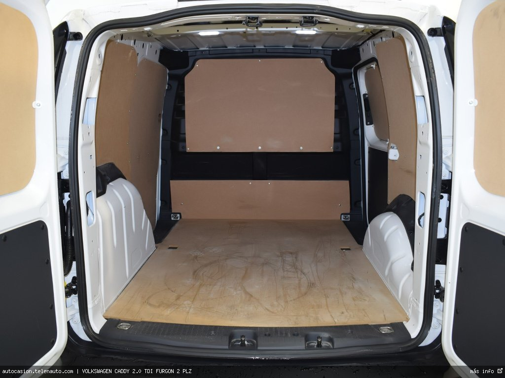 Volkswagen Caddy Furgón 2.0TDI 102CV Diesel kilometro 0 de segunda mano 7