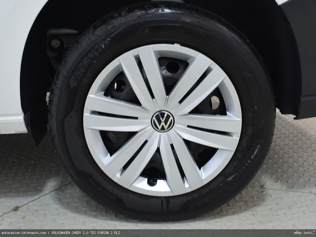 Volkswagen Caddy Furgón 2.0TDI 102CV Diesel kilometro 0 de segunda mano 8