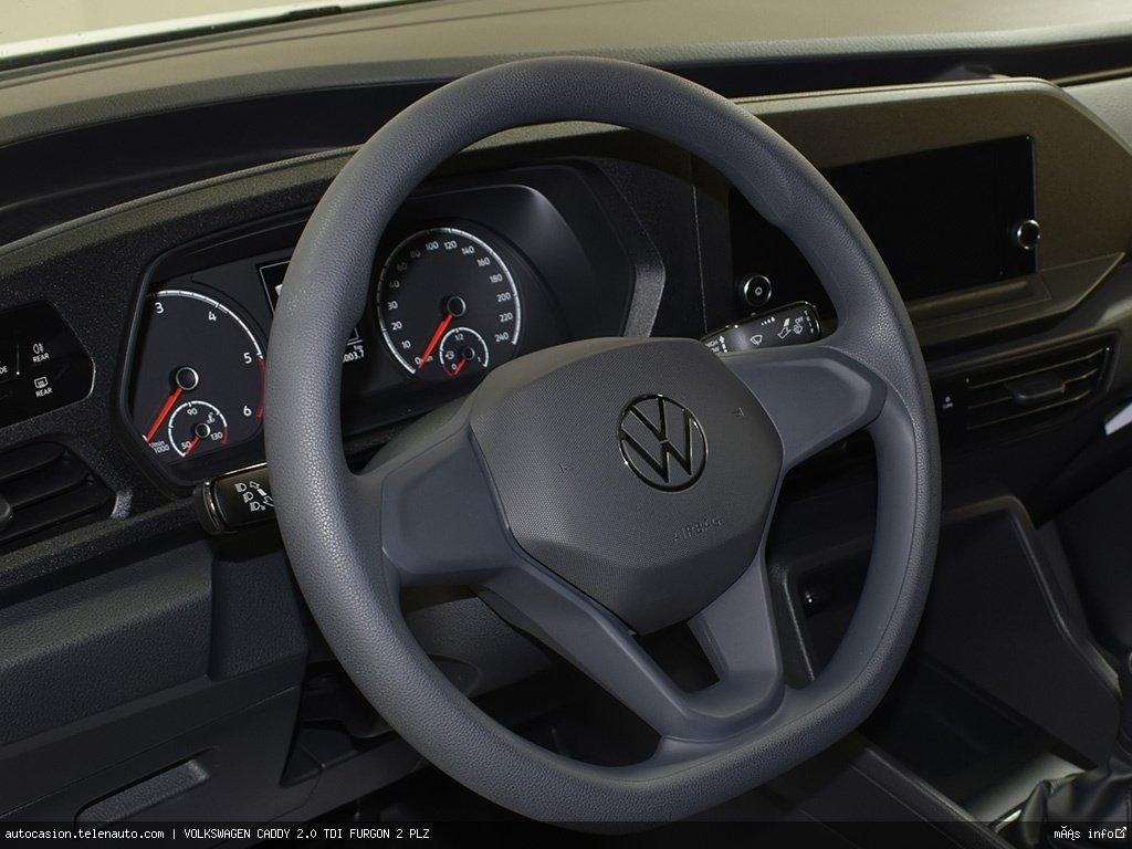 Volkswagen Caddy Furgón 2.0TDI 102CV Diesel kilometro 0 de segunda mano 9