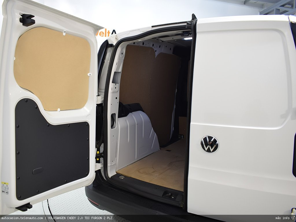 Volkswagen Caddy Furgón 2.0TDI 102CV Diesel kilometro 0 de segunda mano 10