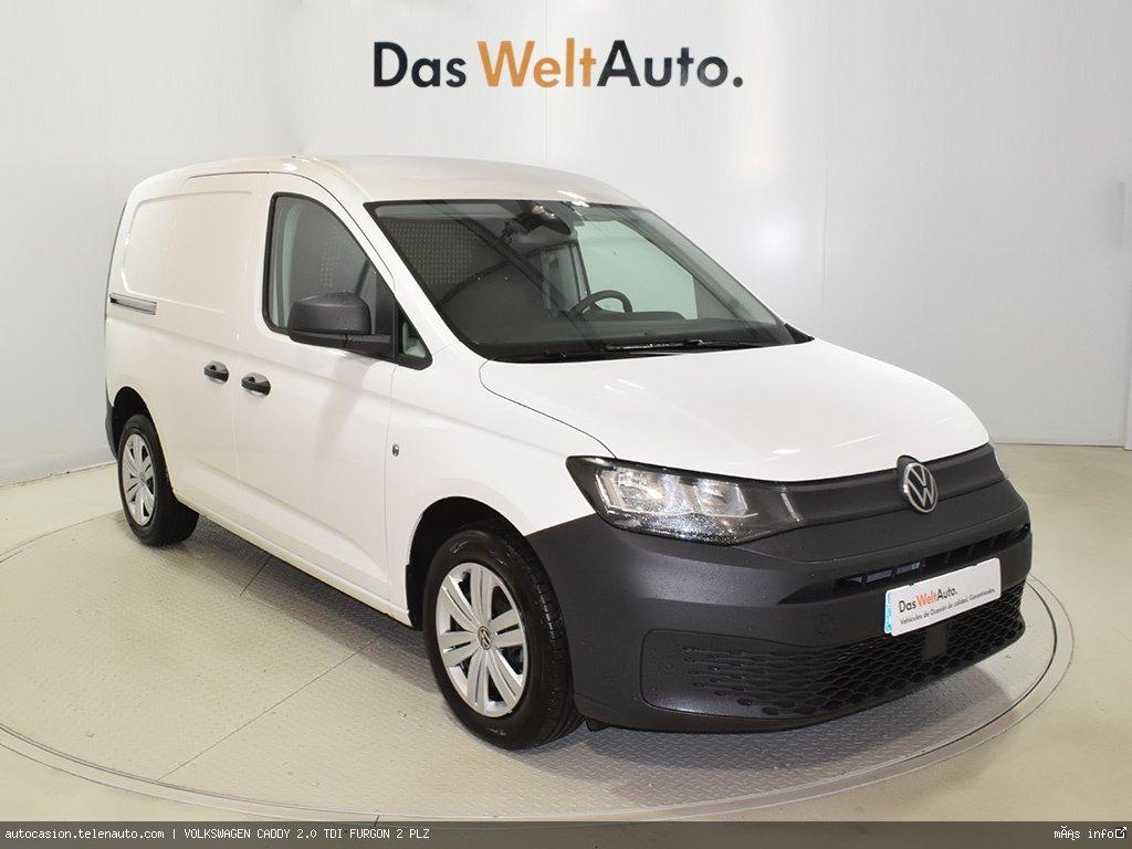 Volkswagen Caddy Furgón 2.0TDI 102CV Diesel kilometro 0 de segunda mano 1