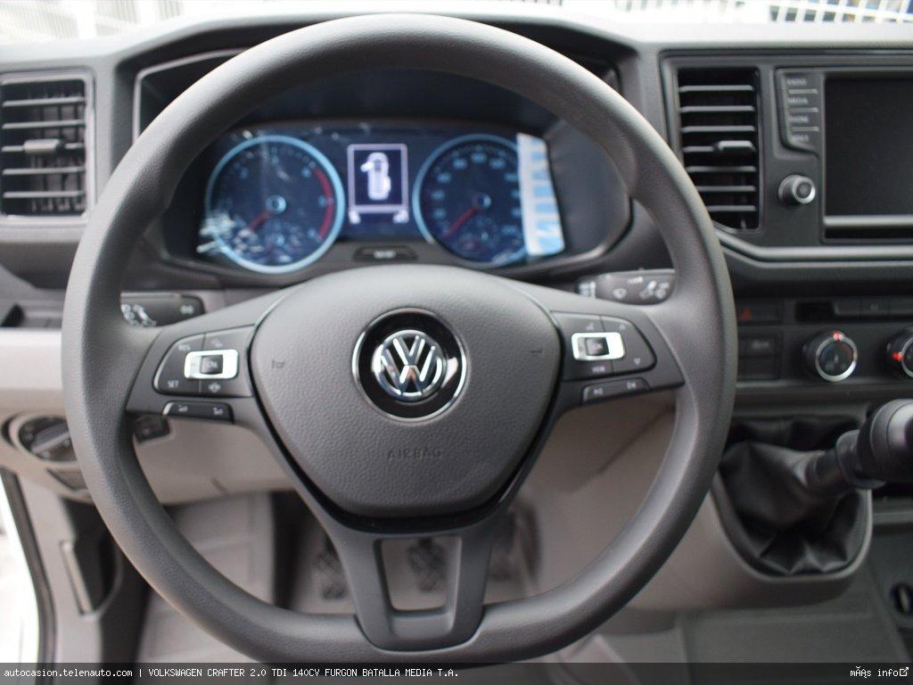 Volkswagen Crafter 2.0 TDI 140CV FURGON BATALLA MEDIA T.A.  Diesel kilometro 0 de segunda mano 6