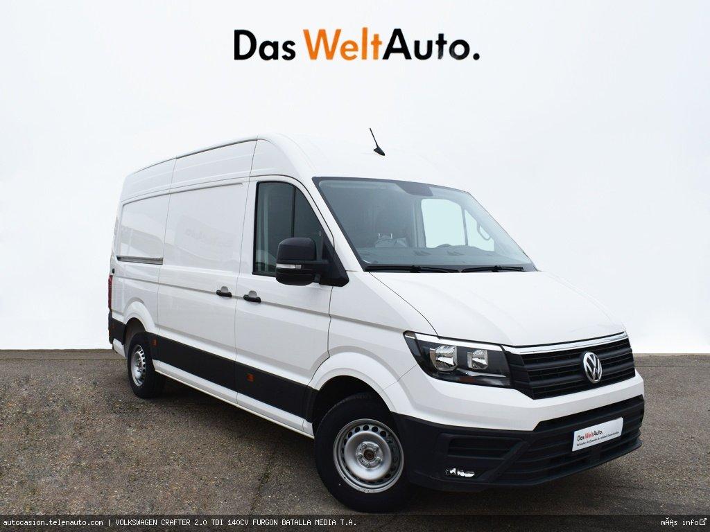 Volkswagen Crafter 2.0 TDI 140CV FURGON BATALLA MEDIA T.A.  Diesel kilometro 0 de segunda mano 1