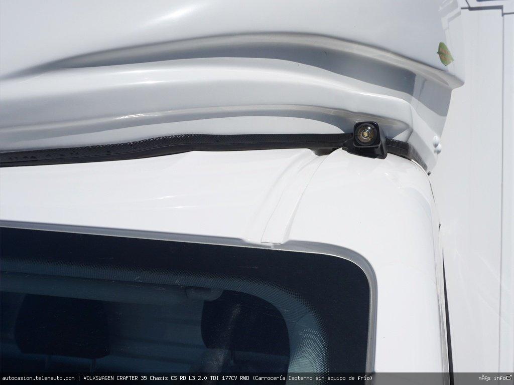 Volkswagen Crafter 35 Chasis CS RD L3 2.0 TDI 177CV RWD (Carrocería Isotermo sin equipo de frío)   Diesel kilometro 0 de segunda mano 3