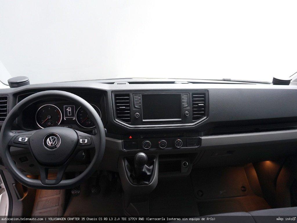 Volkswagen Crafter 35 Chasis CS RD L3 2.0 TDI 177CV RWD (Carrocería Isotermo sin equipo de frío)   Diesel kilometro 0 de segunda mano 6