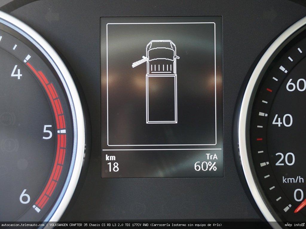 Volkswagen Crafter 35 Chasis CS RD L3 2.0 TDI 177CV RWD (Carrocería Isotermo sin equipo de frío)   Diesel kilometro 0 de segunda mano 7