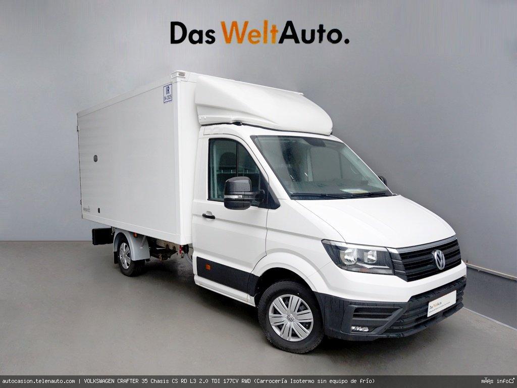 Volkswagen Crafter 35 Chasis CS RD L3 2.0 TDI 177CV RWD (Carrocería Isotermo sin equipo de frío)   Diesel kilometro 0 de segunda mano 1