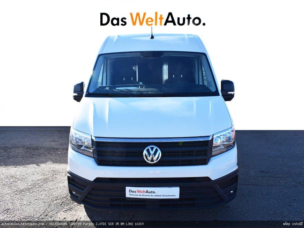 Volkswagen Crafter 2.0 TDI 140CV Furgon Batalla Larga TA  Diesel de ocasión 2