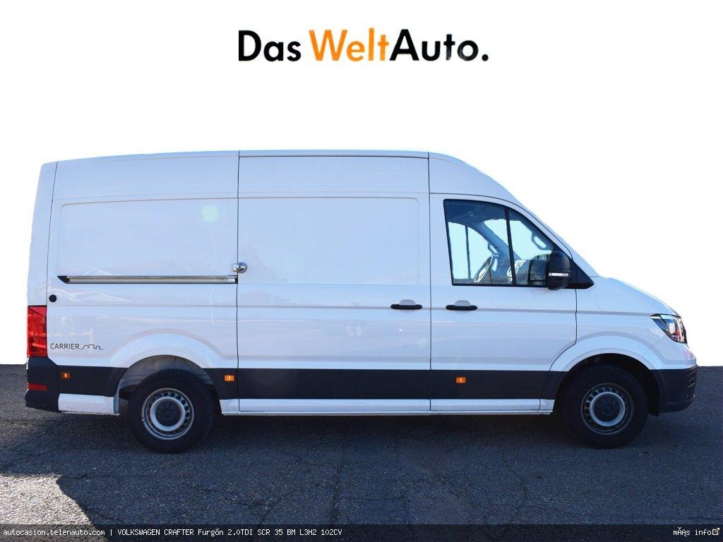Volkswagen Crafter 2.0 TDI 140CV Furgon Batalla Larga TA  Diesel de ocasión 3