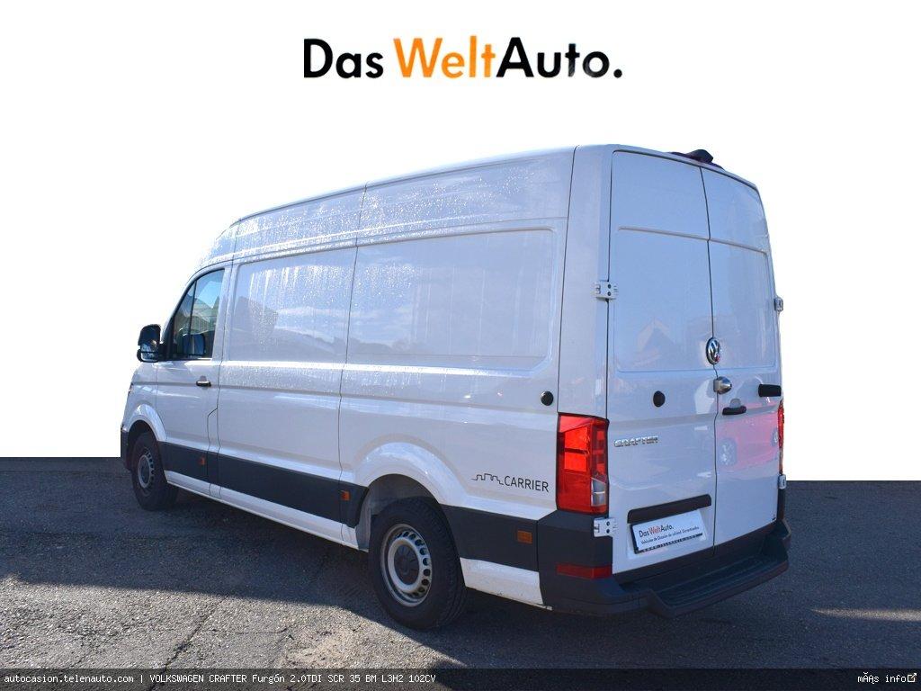 Volkswagen Crafter 2.0 TDI 140CV Furgon Batalla Larga TA  Diesel de ocasión 4