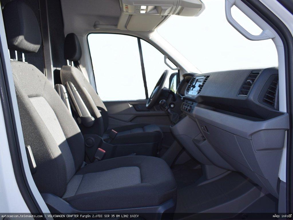 Volkswagen Crafter 2.0 TDI 140CV Furgon Batalla Larga TA  Diesel de ocasión 6
