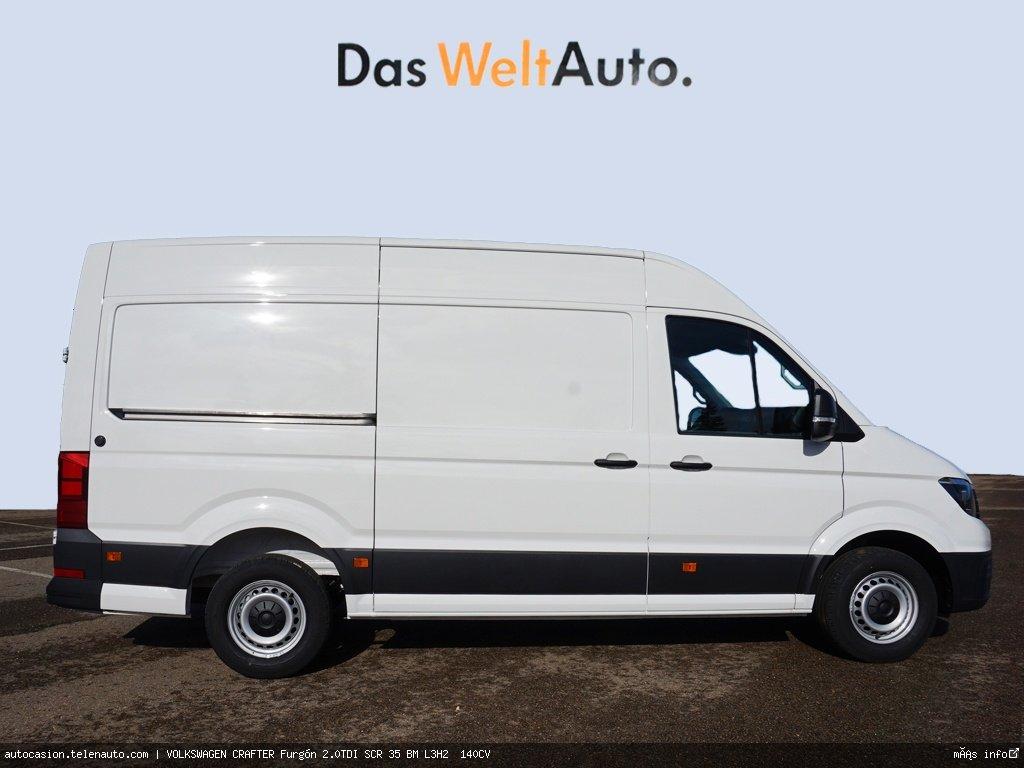 Volkswagen Crafter Furgón 2.0TDI SCR 35 BM L3H2  140CV Diesel seminuevo de segunda mano 2