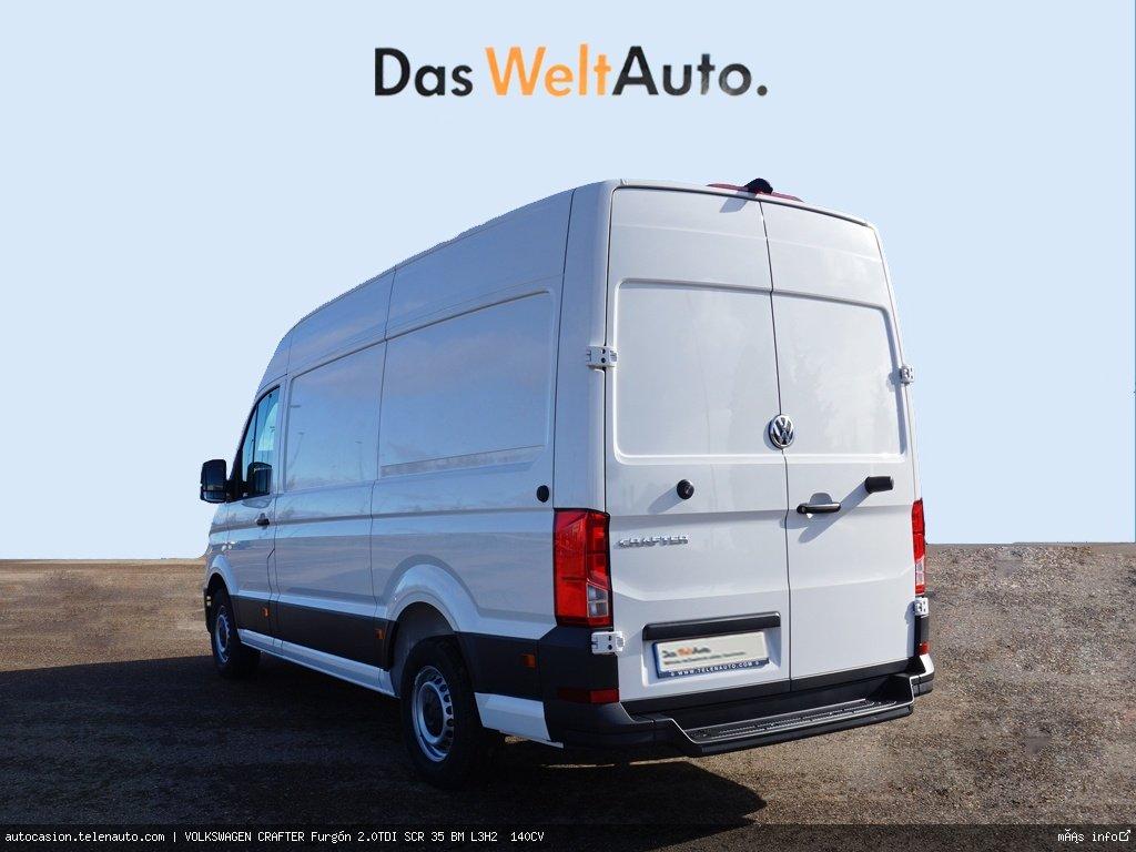 Volkswagen Crafter Furgón 2.0TDI SCR 35 BM L3H2  140CV Diesel seminuevo de segunda mano 3
