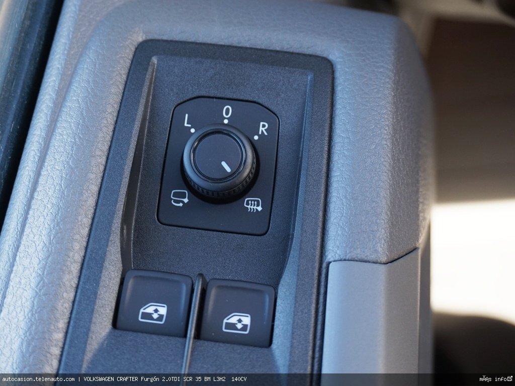 Volkswagen Crafter Furgón 2.0TDI SCR 35 BM L3H2  140CV Diesel seminuevo de segunda mano 8