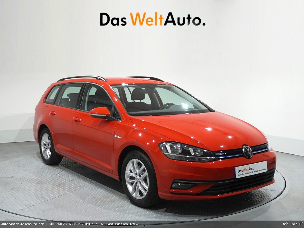 Volkswagen Golf Variant 1.6TDI Advance DSG7 115CV (AUTOMÁTICO) Diesel de segunda mano 1