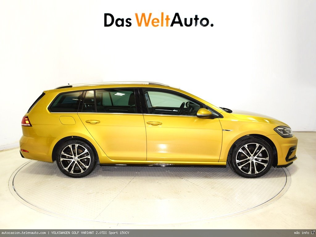 Volkswagen Golf variant 1.6TDI  Advance 115CV Diesel de ocasión 2