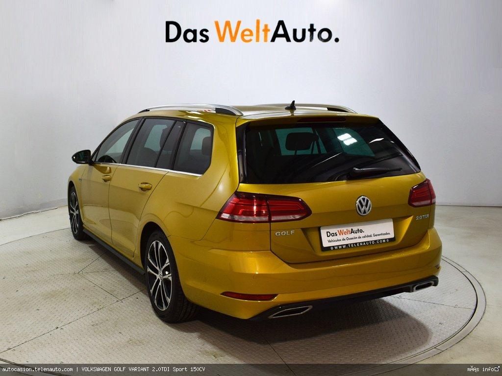 Volkswagen Golf variant 1.6TDI  Advance 115CV Diesel de ocasión 3