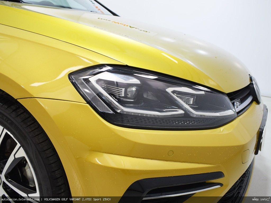 Volkswagen Golf variant 1.6TDI  Advance 115CV Diesel de ocasión 4
