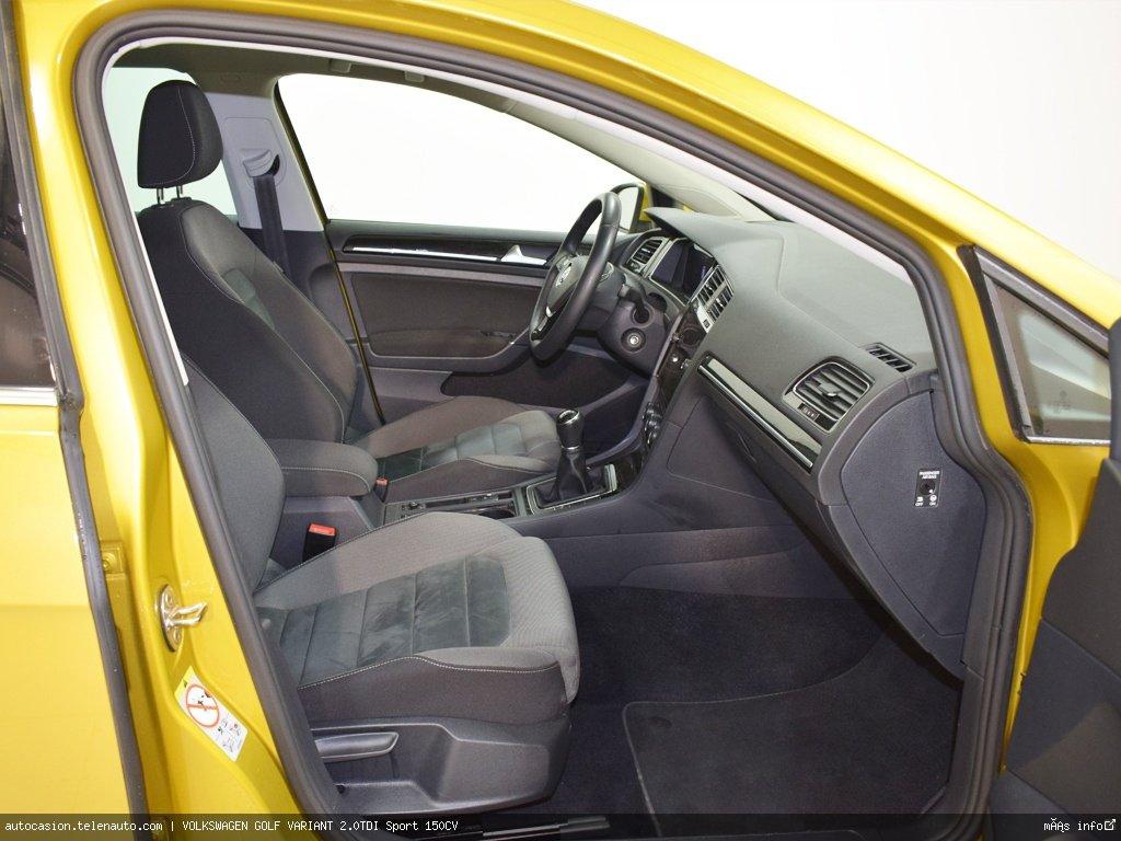 Volkswagen Golf variant 1.6TDI  Advance 115CV Diesel de ocasión 6
