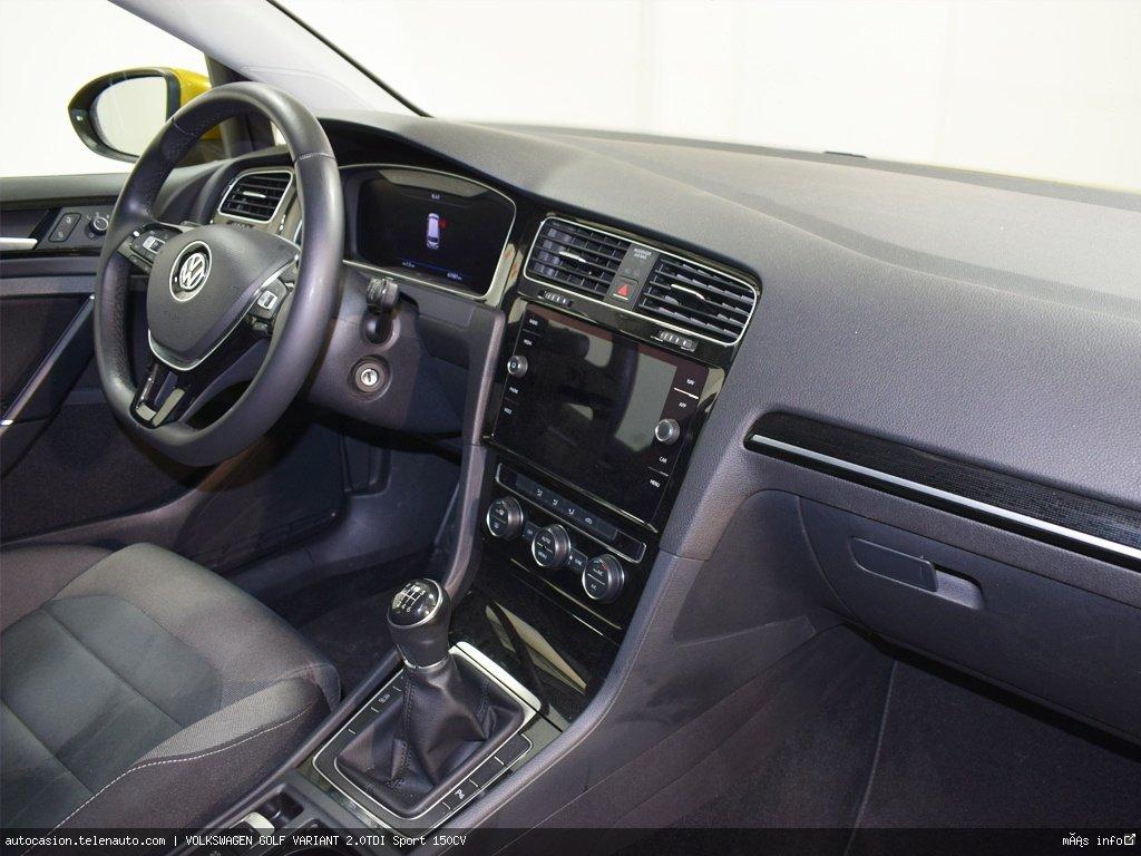 Volkswagen Golf variant 1.6TDI  Advance 115CV Diesel de ocasión 7