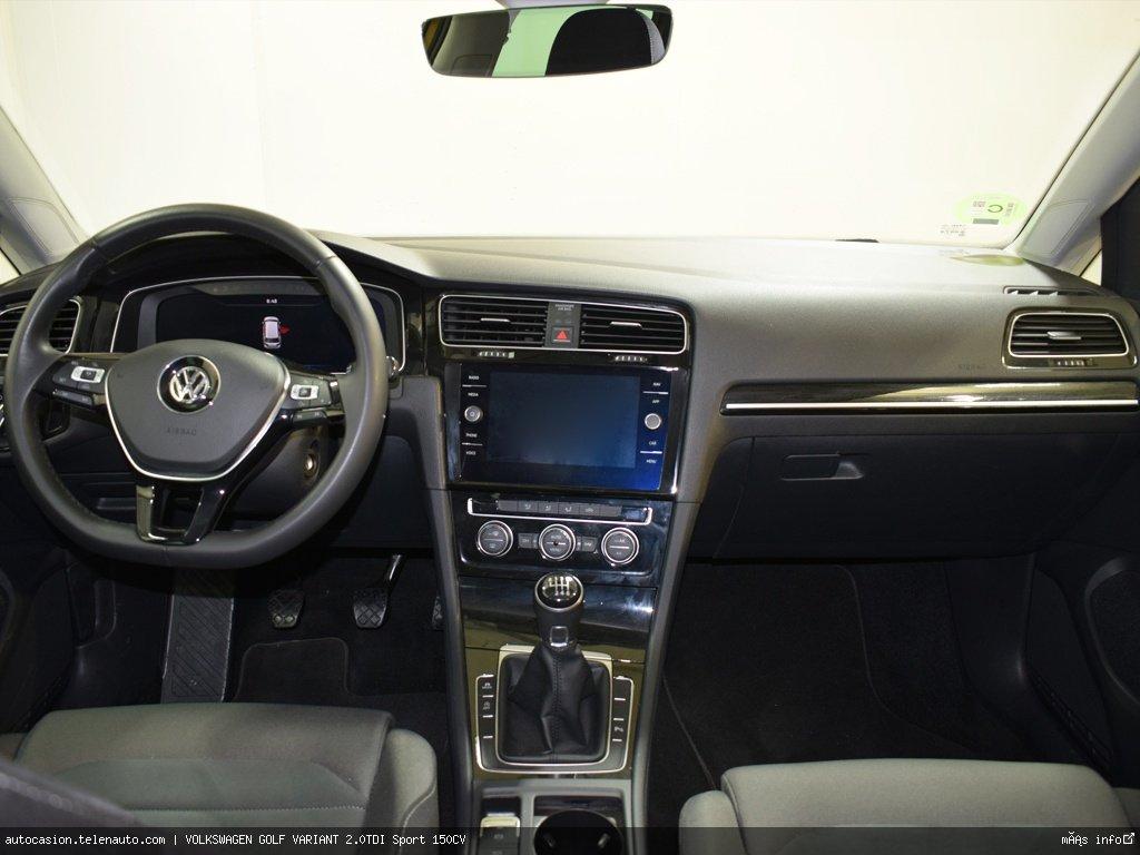 Volkswagen Golf variant 1.6TDI  Advance 115CV Diesel de ocasión 8